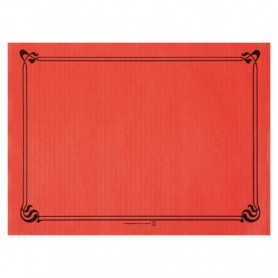 "Sets de Table ""Snack"" Rouge 30x40cm - Colis de 2000"