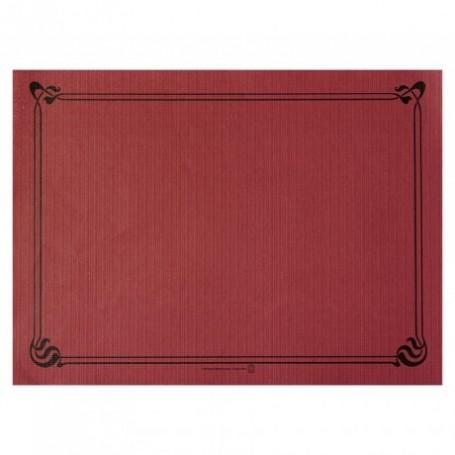 """Sets de Table """"Snack"""" Bordeaux 30x40cm - Colis de 2000"""