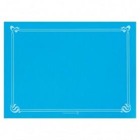 """Sets de Table """"Snack"""" Bleu Turquoise 30x40cm - Colis de 2000"""