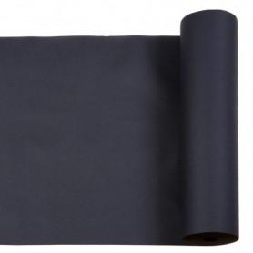 Tête à tête Soft 40x120cm Noir en Rouleau prédécoupé de 24m - Colis de 6
