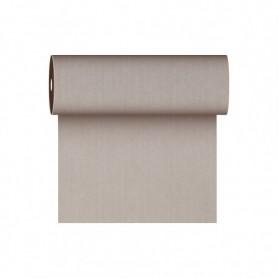 Tête à tête Texture Fil 40x120cm Chocolat en Rouleau prédécoupé de 24m - Colis de 6