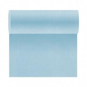 """Tête à tête """"Like-Linen"""" 40x120cm Turquoise en Rouleau prédécoupé de 24m - Colis de 6"""