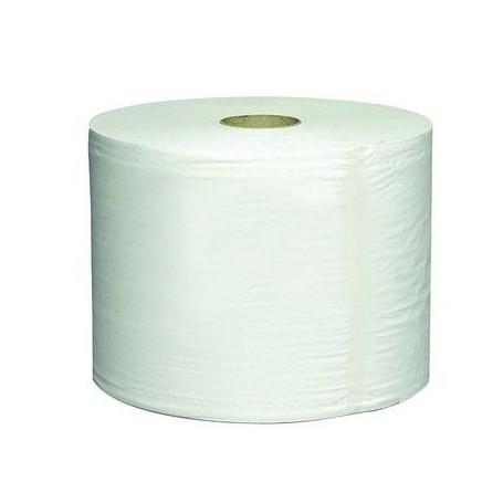 Bobine 1500 formats ouate blanche 2 plis - Colis de 2