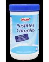 Chlore en pastilles - Pot de 1kg