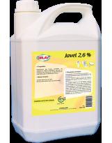 Javel classique 2,6% - Bidon de 5L