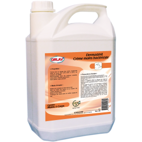 Savon crème mains Bactéricide - Bidon de 5L