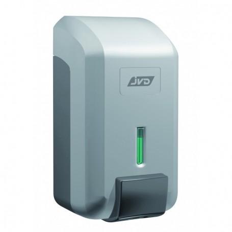 Distributeur savon 700 ml gris métal en ABS