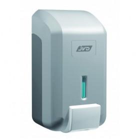 Distributeur savon mousse vrac 700 ml gris m tal en abs - Distributeur savon integre plan travail ...