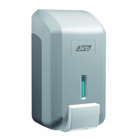 Distributeur savon mousse vrac 700 ml gris métal en ABS