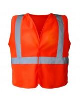Gilet Haute Visibilité orange 3 bandes