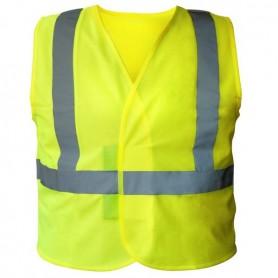 Gilet Haute Visibilité jaune 3 bandes