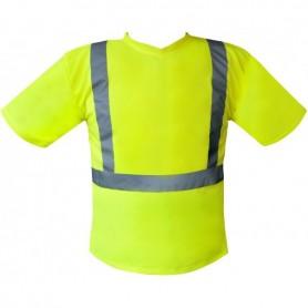 Tee-Shirt basic Haute visibilité jaune
