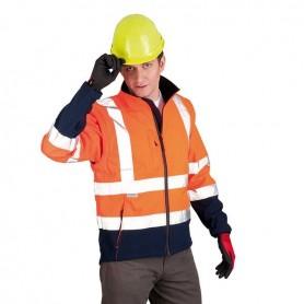 Veste SOFTSHELL ANETO Haute visibilité Orange