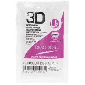 3D Détergent désinfectant surodorant Douceur des Alpes - Colis de 250 doses