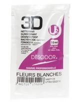 Détergent désinfectant surodorant Fleurs Blanches - Colis de 250 doses