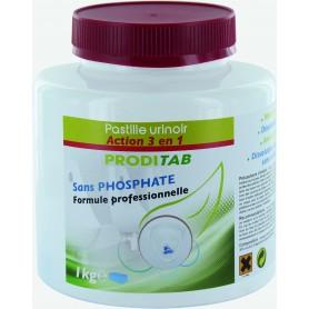 Galet urinoir 3 en 1 Parfum Agrumes - Pot de 1 Kg