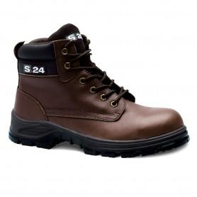 Chaussure haute en cuir JUNGLE S3 - La paire