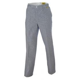 Pantalon cuisinier 100% coton PREMIUM