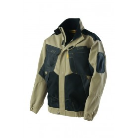 Blouson Out Force 2R beige et carbone