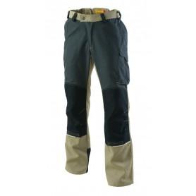 Pantalon EXALT'R 2R beige et carbone