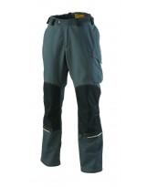 Pantalon genoullières Out Force 2R jean, bleu et graphite