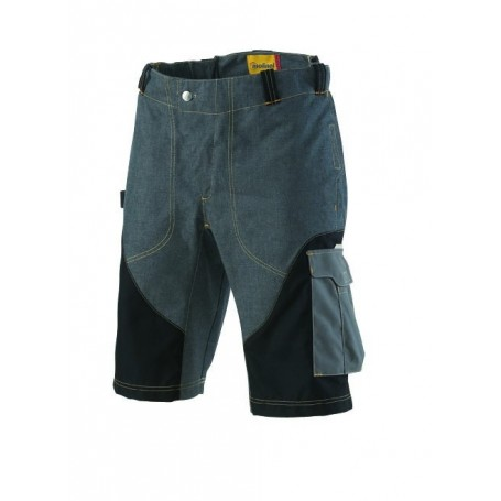 Bermuda Out Force 2R jean, bleu et graphite