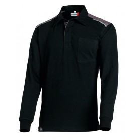 Polo Rugby Out Force 2R noir et charcoal