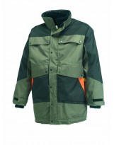Parka 4 en 1 G-ROK vert nature et orange
