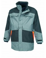 Parka 4 en 1 G-ROK carbone et orange