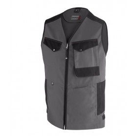 Gilet Out Sum gris charcoal et noir