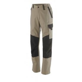 Pantalon genoullières Out Sum beige et noir