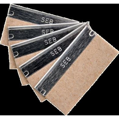 Lames pour grattoirs Unger à vitres 4 cm, carbone - Boite de 10