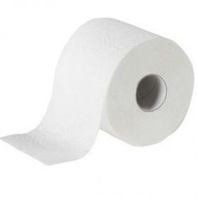 Papier hygiénique supérieur 3 plis en rouleau de 250 formats - Colis de 72