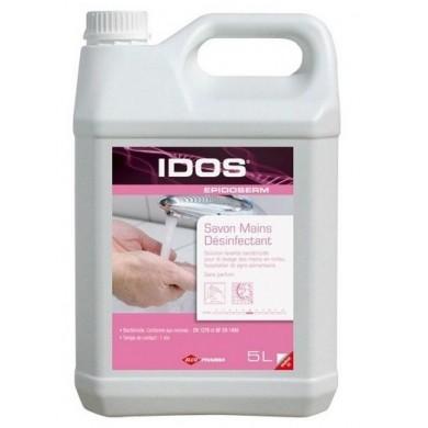 Savon crème mains antiseptique IDOS Epidoserm - Bidon de 5L