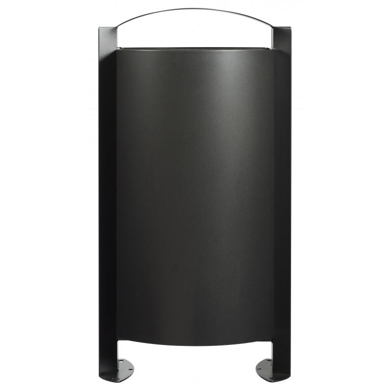 poubelle sur pied arkea 100l rossignol. Black Bedroom Furniture Sets. Home Design Ideas