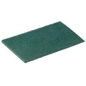 Tampon abrasif vert 230x140mm - Lot de 10