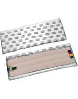 Frange microfibre velcro grattante avec points abrasifs