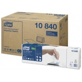 Serviette enchevêtrée Blanche 1 pli Tork Xpressnap® N4- Colis de 9000