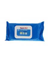 Lingettes nettoyantes antibactériennes Quicknet - Pack de 50 lingettes
