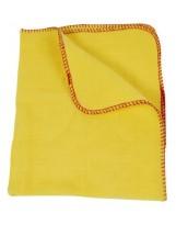 Chamoisine dépoussiérante jaune 40x50cm - Sachet de 2