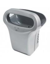 Sèche mains a air pulse Exp'air alu epoxy gris métal