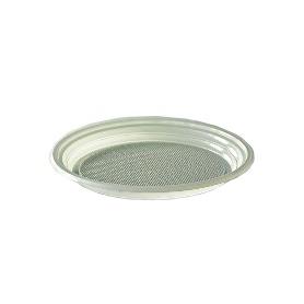 Assiette ronde à dessert blanche 17 cm - Colis de 2400