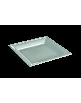 Assiette thermoformée carrée blanche 18cm - Colis de 192