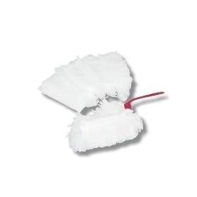 Plumeau electrostatique a housse jetable + 5 recharges microfibres