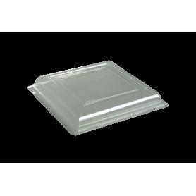 Couvercle assiette carrée 18cm - Colis de 192