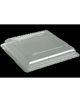 Couvercle assiette carrée 24cm - Colis de 192