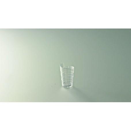 Mise en bouche verre spiral cristal - Colis de 300