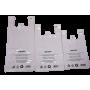Sacs bretelle BD blanc 26+12x45 - Colis de 500