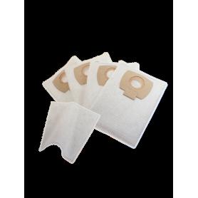 Sacs poussières pour AERO 21 / 26 / 31 - Lot de 4 sacs synthétiques + 1 filtre à eau