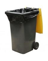 Housse container 360L noir - Colis de 100
